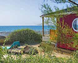 Cing les mediterranees beach garden