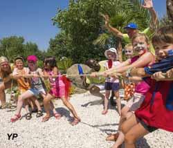 Camping Les Mediterranees Beach Club Cha