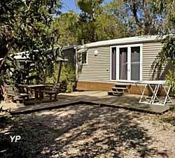 Camping de La Pascalinette - Bungalow Avantage, 2 chambres, 4-5 personnes (doc. Camping de La Pascalinette)