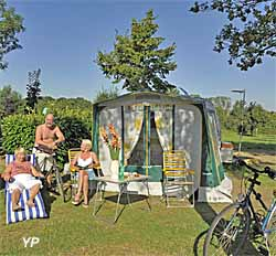 Camping municipal ouches de Budell