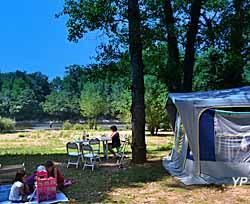 Camping Les Chalets sur La Dordogne
